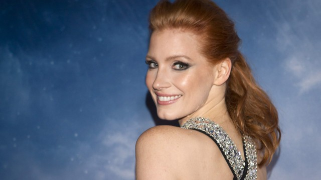 Actress Jessica Chastain arrives for the premiere of her film 'Interstellar' in New York