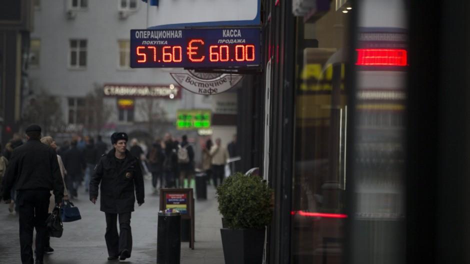 Wladimir Putin Wechselkurs