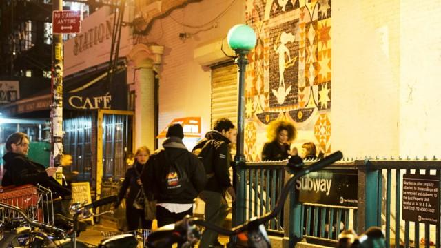 USA Nachtleben Williamsburg in New York