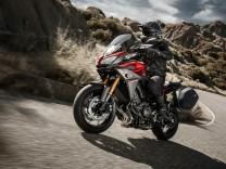Yamaha erweitert Dreizylinder-Familie um Tourer MT-09 Tracer