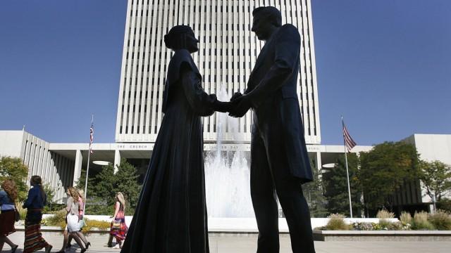 Mormonen Bestätigung durch Kirche
