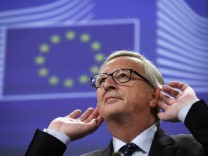 Juncker presser on Luxembourg leaks