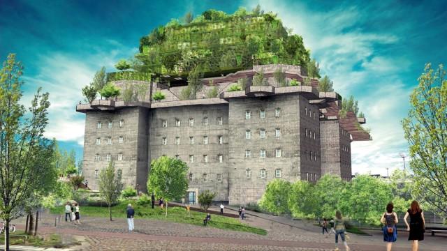 Hilldegarden Bunker Garten