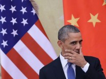 U.S. President Barack Obama Visits China Klima