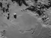 Rosetta - Foto der Kometenoberfläche