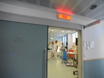 Schockraum des Schwabinger Krankenhauses, 2009