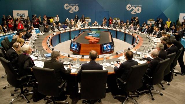 G-20-Gipfel in Brisbane
