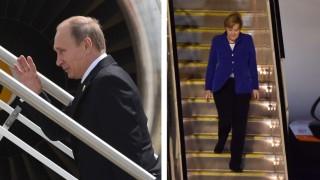 Thema des Tages Merkel und Putin