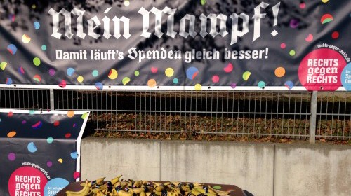 Mein Mampf - Spendenlauf in Wunsiedel