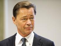 Prozess Middelhoff 06 11 2014 Thomas Middelhoff auf der Anklagebank im Landgericht Essen Einzelbil