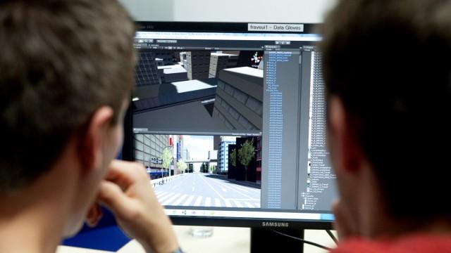 Games-Engineering-Studiengang.  TU Garching, Institut für Informatik, Boltzmannstr. 3.