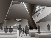 Daniel Libeskind Presents New Munich Synagogue Design