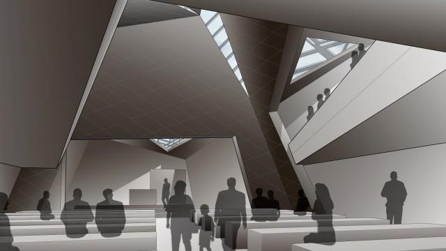 Daniel Libeskind Presents New Munich Synagogue Design