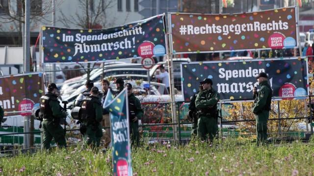 Meinung Aktion im bayerischen Wunsiedel