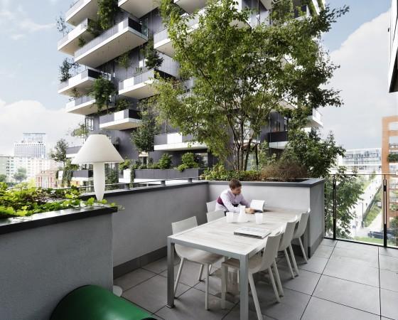 Bosco Verticale (Mailand/Italien), Architekten: Boeri Studio, Mailand, 2014