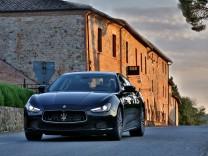 Maserati Ghibli Diesel Testfahrt