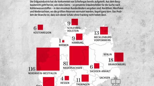Fracking Förderung von Schiefergas in Deutschland