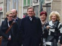 Voraussichtlich Abschluss Koalitionsverhandlungen Rot-Rot-Grün
