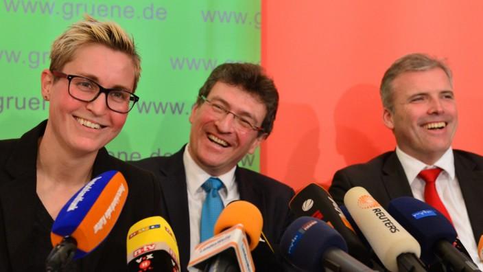 Vorstellung Koalitionsvertrag in Erfurt