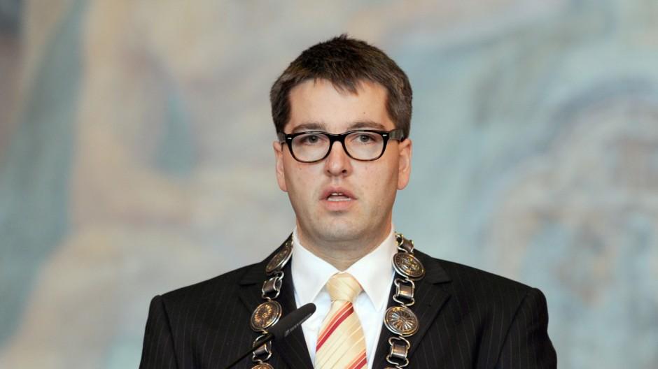 Goslars Oberbürgermeister Oliver Junk
