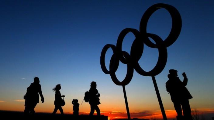 Olympische Spiele Ringe