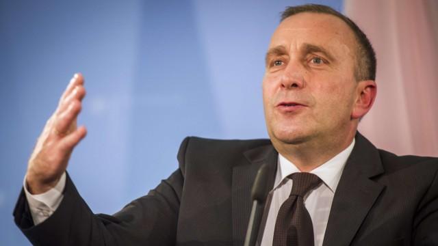 Grzegorz Schetyna Polens Außenminister über Russland-Politik der EU
