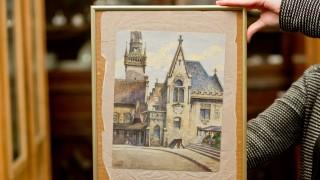 Auktionshaus versteigert Aquarell von Adolf Hitler