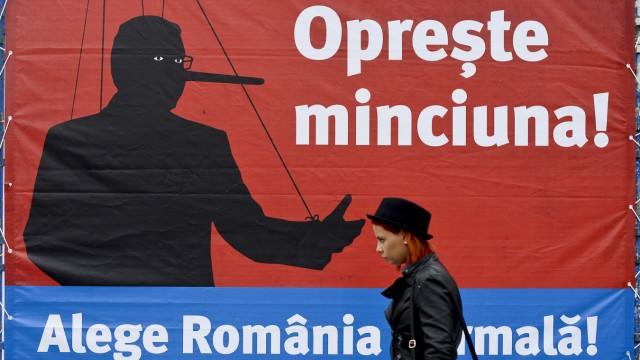 Wahl in Rumänien Rumänien