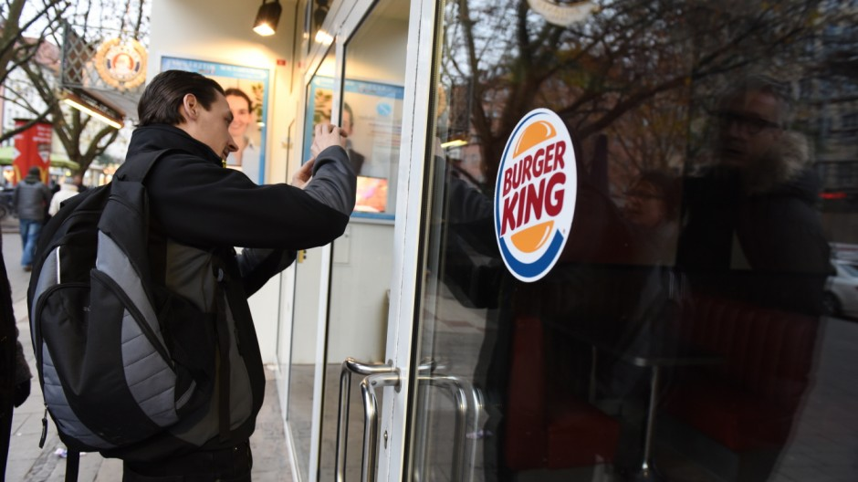 Burger King Franchisenehmer von Burger King