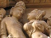 Khajuraho-Tempel in Nordindien
