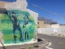 Woodstock Street Art elephant