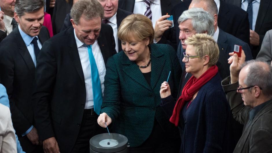 Bundestag - Haushaltsdebatte