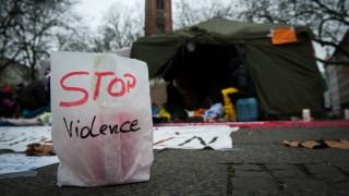 Flüchtlinge in München Flüchtlinge im Hungerstreik