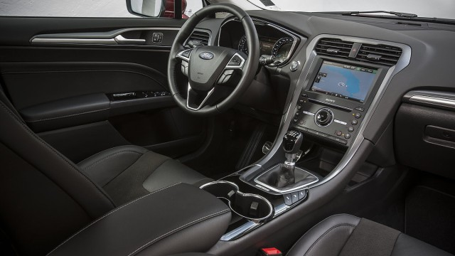 Der Innenraum des neuen Ford Mondeo.