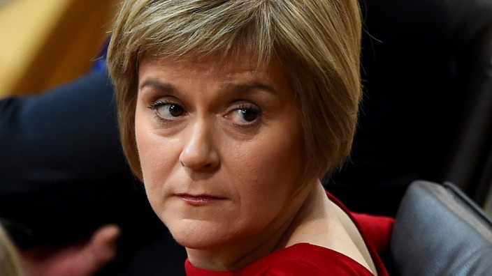 Nicola Sturgeon Is Voted In As Scotland's First Minister