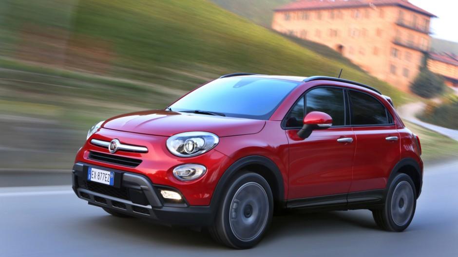 Fiat 500X:Kleines SUV kostet ab 16 950 Euro