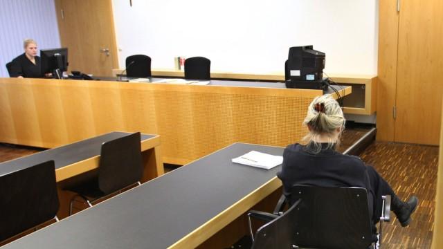 Richterin vor Gericht