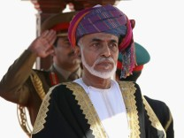 Queen Elizabeth II And Prince Philip Visit Visit Oman - Day 1