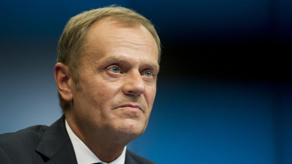 Europäische Union Interview mit Präsidenten des Europäischen Rats