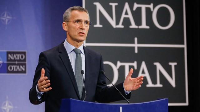 NATO Secretary General Jens Stoltenberg press conference
