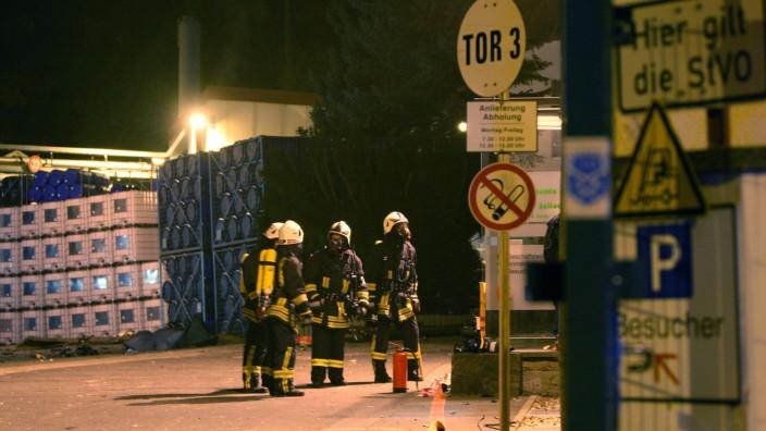 Explosion in Chemiefabrik Pirna