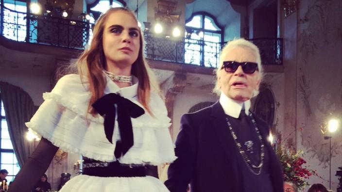 Karl Lagerfeld in Salzburg