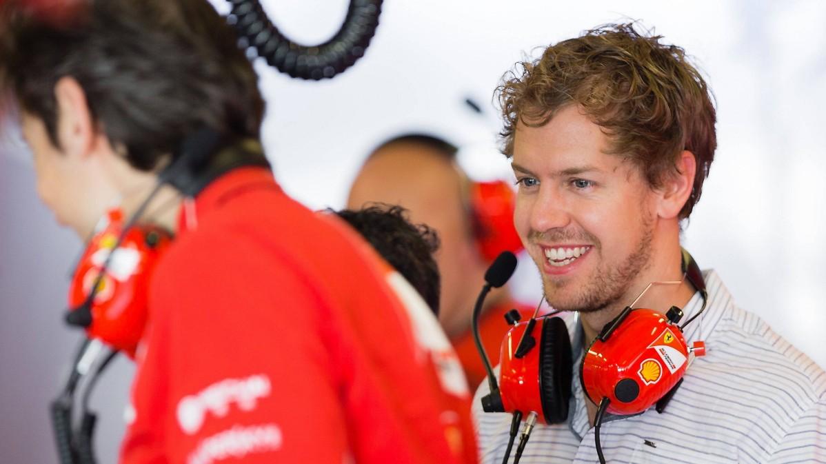 Vettel spürt die Magie
