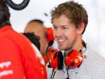 Nov 25 2014 Abu Dhabi United Arab Emirates SEBASTIAN VETTEL of Germany and Infiniti Red Bull