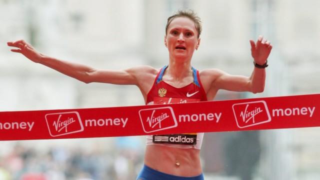 London Marathon - Lilia Schobuchowa