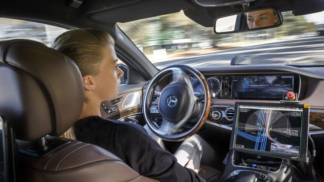 Autonomes fahren Roboterauto