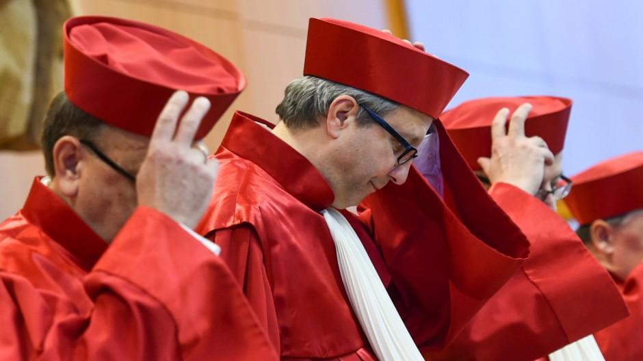 Bundesverfassungsgericht verhandelt über Richterbesoldung
