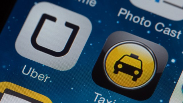 Jahresrückblick 2014 - Handy-App 'Uber'