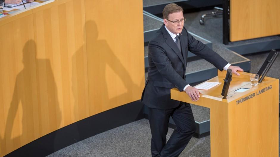 Wahl Ministerpräsident in Thüringen