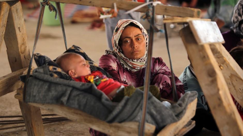 Islamischer Staat Jesidinnen in der Gewalt des IS